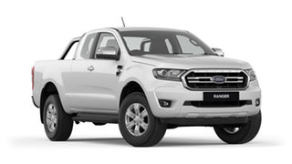 2018 Ford Ranger PX MkIII 2019.00MY XLT Pick-up Super Cab Cool White 6 Speed Sports Automatic.