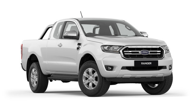 New Ford Ranger PX MkIII 2019.00MY XLT Pick-up Super Cab, 2018 Ford Ranger PX MkIII 2019.00MY XLT Pick-up Super Cab Cool White 6 Speed Sports Automatic