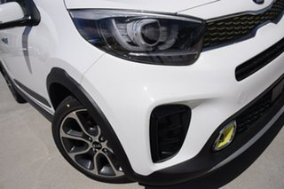 2019 Kia Picanto JA MY19 AO Edition Clear White 4 Speed Automatic Hatchback.