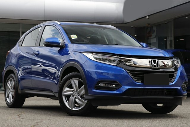 New Honda HR-V MY21 VTi-S Newstead, 2020 Honda HR-V MY21 VTi-S Blue 1 Speed Automatic Wagon