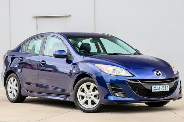Used Mazda 3 BL10F1 Maxx Sport, 2009 Mazda 3 BL10F1 Maxx Sport Blue 6 Speed Manual Sedan