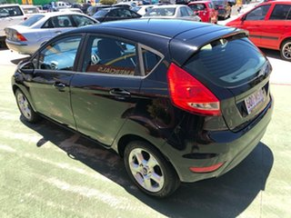2009 Ford Fiesta WS LX Black 5 Speed Manual Hatchback