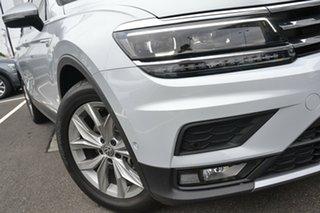 2021 Volkswagen Tiguan 5N MY21 110TSI Comfortline DSG 2WD Allspace White 6 Speed.