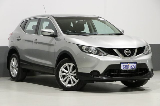 Used Nissan Qashqai J11 ST, 2017 Nissan Qashqai J11 ST Platinum Continuous Variable Wagon