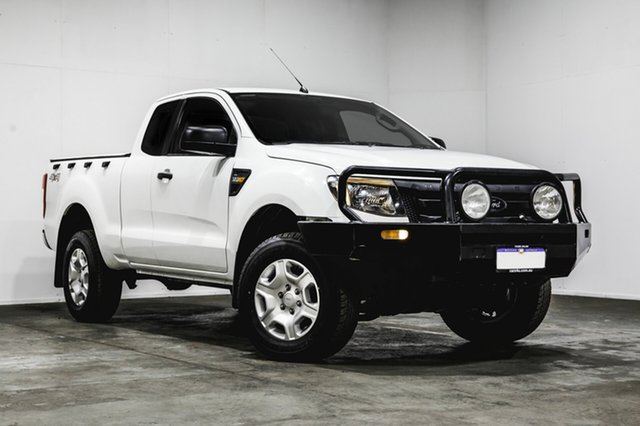 Used Ford Ranger PX XL Super Cab, 2012 Ford Ranger PX XL Super Cab White 6 Speed Manual Utility
