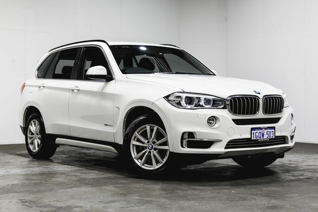 Used BMW X5 F15 xDrive25d, 2014 BMW X5 F15 xDrive25d White 8 Speed Automatic Wagon