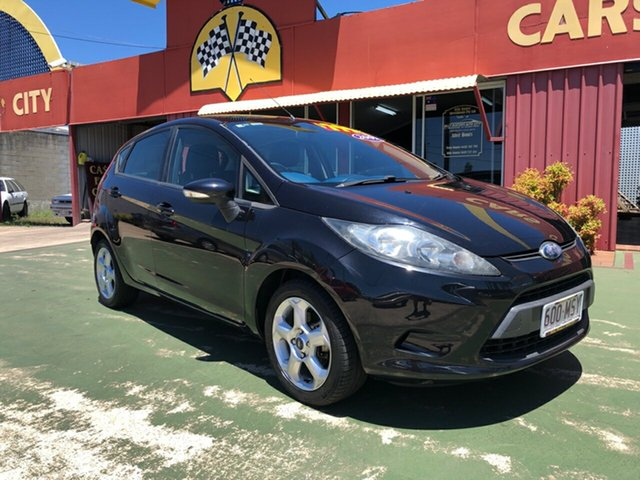 Used Ford Fiesta WS LX, 2009 Ford Fiesta WS LX Black 5 Speed Manual Hatchback