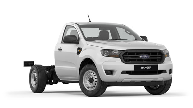 New Ford Ranger PX MkIII 2019.00MY XL 4x2 Hi-Rider, 2019 Ford Ranger PX MkIII 2019.00MY XL 4x2 Hi-Rider White 6 Speed Sports Automatic Cab Chassis