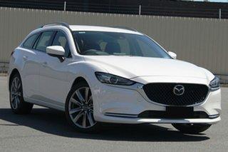 2020 Mazda 6 600RAW5GT Snowflake White Pearl Automatic.
