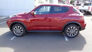 2018 Nissan Juke F15 Series 2 Ti-S X-tronic AWD Magnetic Red 1 Speed Constant Variable Hatchback.
