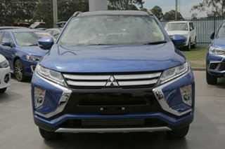 2020 Mitsubishi Eclipse Cross Lightning Blue Wagon