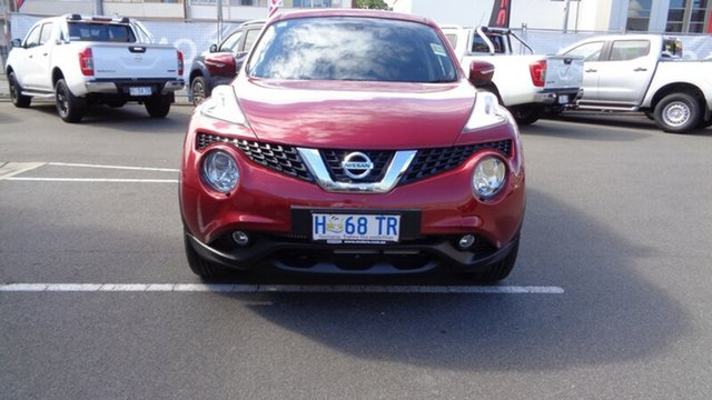Demo Nissan Juke F15 Series 2 Ti-S X-tronic AWD, 2018 Nissan Juke F15 Series 2 Ti-S X-tronic AWD Magnetic Red 1 Speed Constant Variable Hatchback