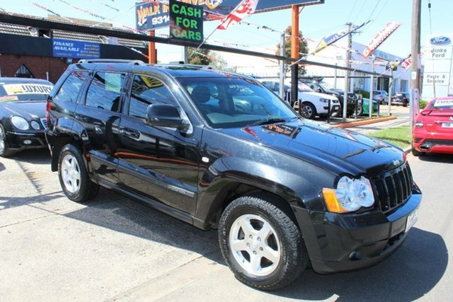 Used Jeep Grand Cherokee WH MY08 Laredo (4x4), 2010 Jeep Grand Cherokee WH MY08 Laredo (4x4) Black 5 Speed Automatic Wagon