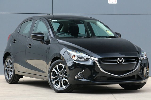 New Mazda 2 DJ2HAA Genki SKYACTIV-Drive, 2018 Mazda 2 DJ2HAA Genki SKYACTIV-Drive Jet Black 6 Speed Sports Automatic Hatchback
