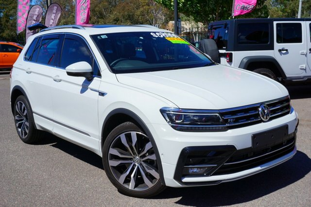 Used Volkswagen Tiguan 5N MY18 140TDI DSG 4MOTION Highline, 2018 Volkswagen Tiguan 5N MY18 140TDI DSG 4MOTION Highline White 7 Speed