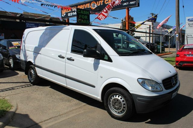 Used Mercedes-Benz Vito MY10 111CDI Compact, 2010 Mercedes-Benz Vito MY10 111CDI Compact White 5 Speed Automatic Van