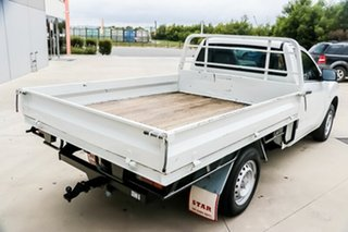 2011 Mazda BT-50 UP0YD1 XT 4x2 White 6 Speed Manual Cab Chassis