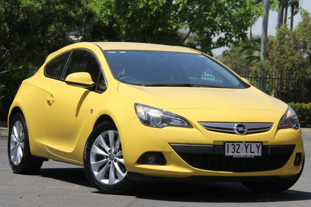 Used Opel Astra AS GTC, 2012 Opel Astra AS GTC Yellow 6 Speed Sports Automatic Hatchback
