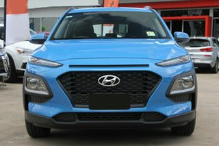 2018 Hyundai Kona OS.2 MY19 Go D-CT AWD Blue Lagoon 7 Speed Sports Automatic Dual Clutch Wagon