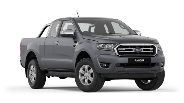 New Ford Ranger PX MkIII 2019.00MY XLT Pick-up Super Cab, 2019 Ford Ranger PX MkIII 2019.00MY XLT Pick-up Super Cab Meteor Grey 6 Speed Sports Automatic