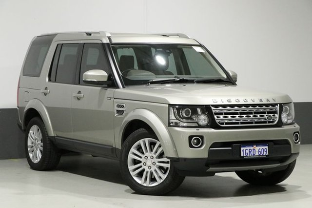 Used Land Rover Discovery MY14 3.0 SDV6 HSE, 2014 Land Rover Discovery MY14 3.0 SDV6 HSE Ipanema Sand 8 Speed Automatic Wagon