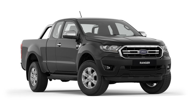 New Ford Ranger PX MkIII 2019.00MY XLT Pick-up Super Cab, 2019 Ford Ranger PX MkIII 2019.00MY XLT Pick-up Super Cab Shadow Black 6 Speed Sports Automatic