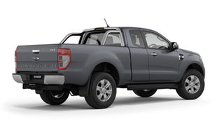 2019 Ford Ranger PX MkIII 2019.00MY XLT Pick-up Super Cab Meteor Grey 6 Speed Sports Automatic.