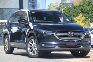 2020 Mazda CX-8 KG4W2A Asaki SKYACTIV-Drive i-ACTIV AWD Jet Black 6 Speed Sports Automatic Wagon.