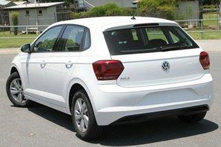 2020 Volkswagen Polo AW13KZ/20 85 TSI Comfortline Pure White 7 Speed Auto Direct Shift Hatchback.