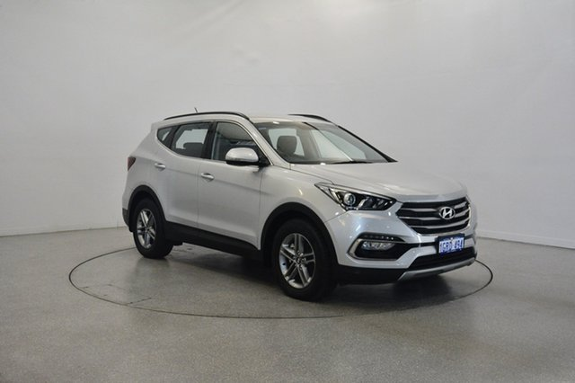 Used Hyundai Santa Fe DM3 MY16 Active, 2016 Hyundai Santa Fe DM3 MY16 Active Sleek Silver 6 Speed Sports Automatic Wagon