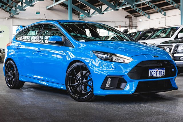 Used Ford Focus LZ RS AWD, 2016 Ford Focus LZ RS AWD Nitrous Blue 6 Speed Manual Hatchback