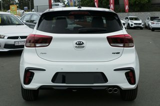 2019 Kia Rio YB MY19 GT-Line DCT Clear White 7 Speed Sports Automatic Dual Clutch Hatchback