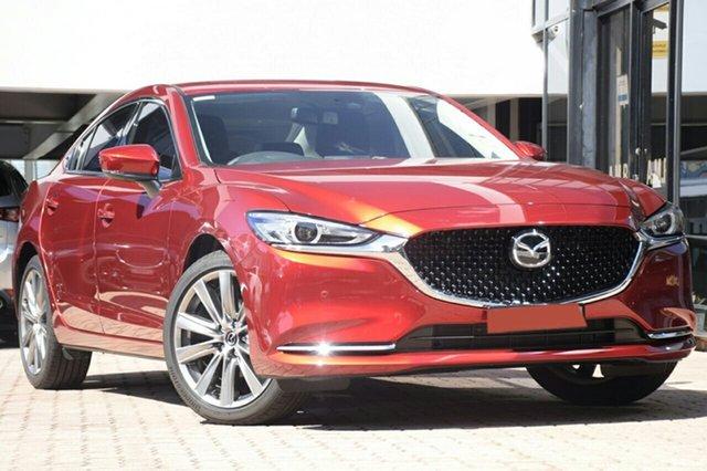 New Mazda 6 GL1033 GT SKYACTIV-Drive, 2019 Mazda 6 GL1033 GT SKYACTIV-Drive Soul Red 6 Speed Sports Automatic Sedan