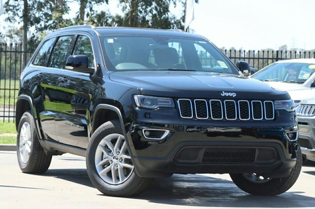New Jeep Grand Cherokee WK MY18 Laredo, 2018 Jeep Grand Cherokee WK MY18 Laredo Diamond Black Crystal 8 Speed Sports Automatic Wagon