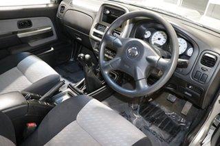 2008 Nissan Navara D22 MY08 ST-R (4x4) Silver 5 Speed Manual Dual Cab Pick-up