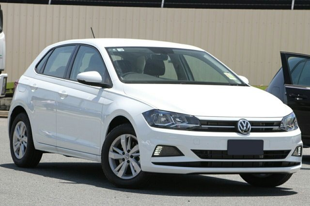 New Volkswagen Polo AW MY19 85TSI DSG Comfortline, 2019 Volkswagen Polo AW MY19 85TSI DSG Comfortline Pure White 7 Speed Sports Automatic Dual Clutch