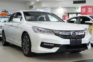 2018 Honda Accord 9th Gen MY18 VTi-L White Orchid 5 Speed Sports Automatic Sedan.