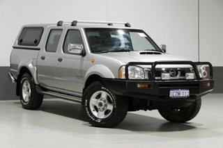2008 Nissan Navara D22 MY08 ST-R (4x4) Silver 5 Speed Manual Dual Cab Pick-up.