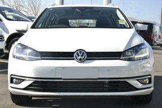 2020 Volkswagen Golf 7.5 MY20 110TSI DSG Highline White 7 Speed Sports Automatic Dual Clutch Wagon