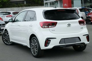 2019 Kia Rio YB MY19 GT-Line DCT Clear White 7 Speed Sports Automatic Dual Clutch Hatchback.