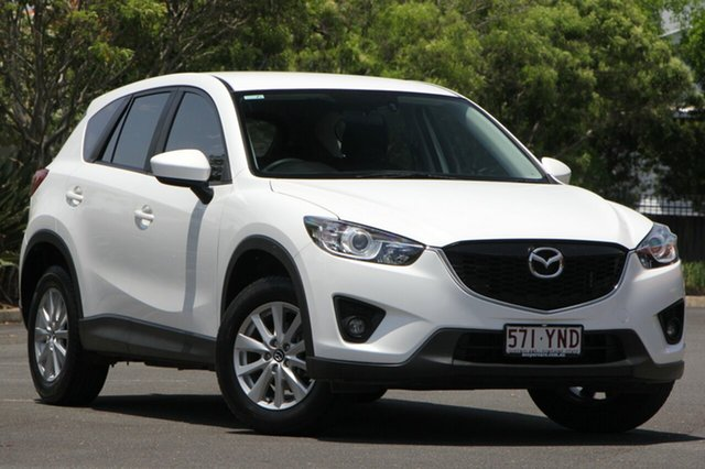 Used Mazda CX-5 KE1071 MY14 Maxx SKYACTIV-Drive Sport, 2014 Mazda CX-5 KE1071 MY14 Maxx SKYACTIV-Drive Sport White 6 Speed Sports Automatic Wagon