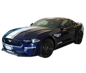 2018 Ford Mustang FN MY18 GT Fastback SelectShift Kona Blue 10 Speed Sports Automatic Fastback.