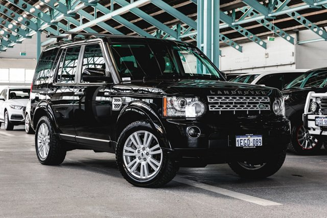 Used Land Rover Discovery 4 Series 4 L319 MY13 TDV6, 2013 Land Rover Discovery 4 Series 4 L319 MY13 TDV6 Black 8 Speed Sports Automatic Wagon