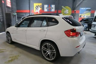 2012 BMW X1 E84 MY0312 sDrive20d Steptronic White 6 Speed Sports Automatic Wagon