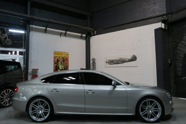 Used Audi A5 8T , 2012 Audi A5 8T Silver Sports Automatic Dual Clutch Hatchback