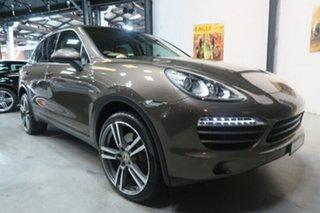 2010 Porsche Cayenne 92A MY11 Diesel Tiptronic Bronze 8 Speed Sports Automatic Wagon.