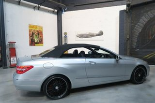 2010 Mercedes-Benz E350 A207 Elegance Silver Sports Automatic Cabriolet