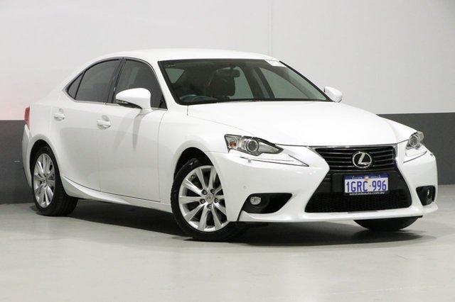 Used Lexus IS350 GSE31R MY15 Luxury, 2015 Lexus IS350 GSE31R MY15 Luxury White 8 Speed Automatic Sedan
