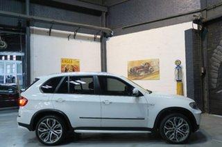 2010 BMW X5 E70 xDrive30d White Sports Automatic Wagon.