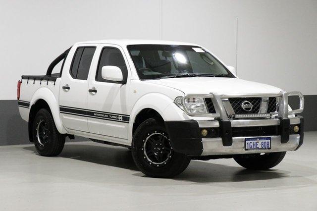 Used Nissan Navara D40 MY12 RX (4x4), 2012 Nissan Navara D40 MY12 RX (4x4) White 6 Speed Manual Dual Cab Pick-up
